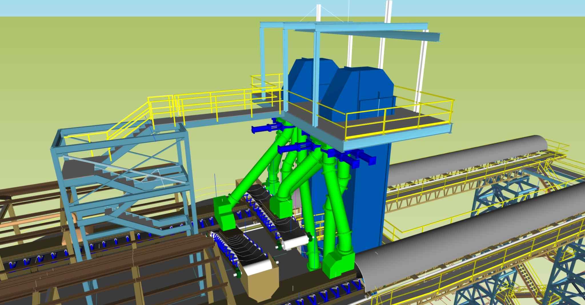 Renovation Amp Upgrade Of Frac Sand Transload Facility